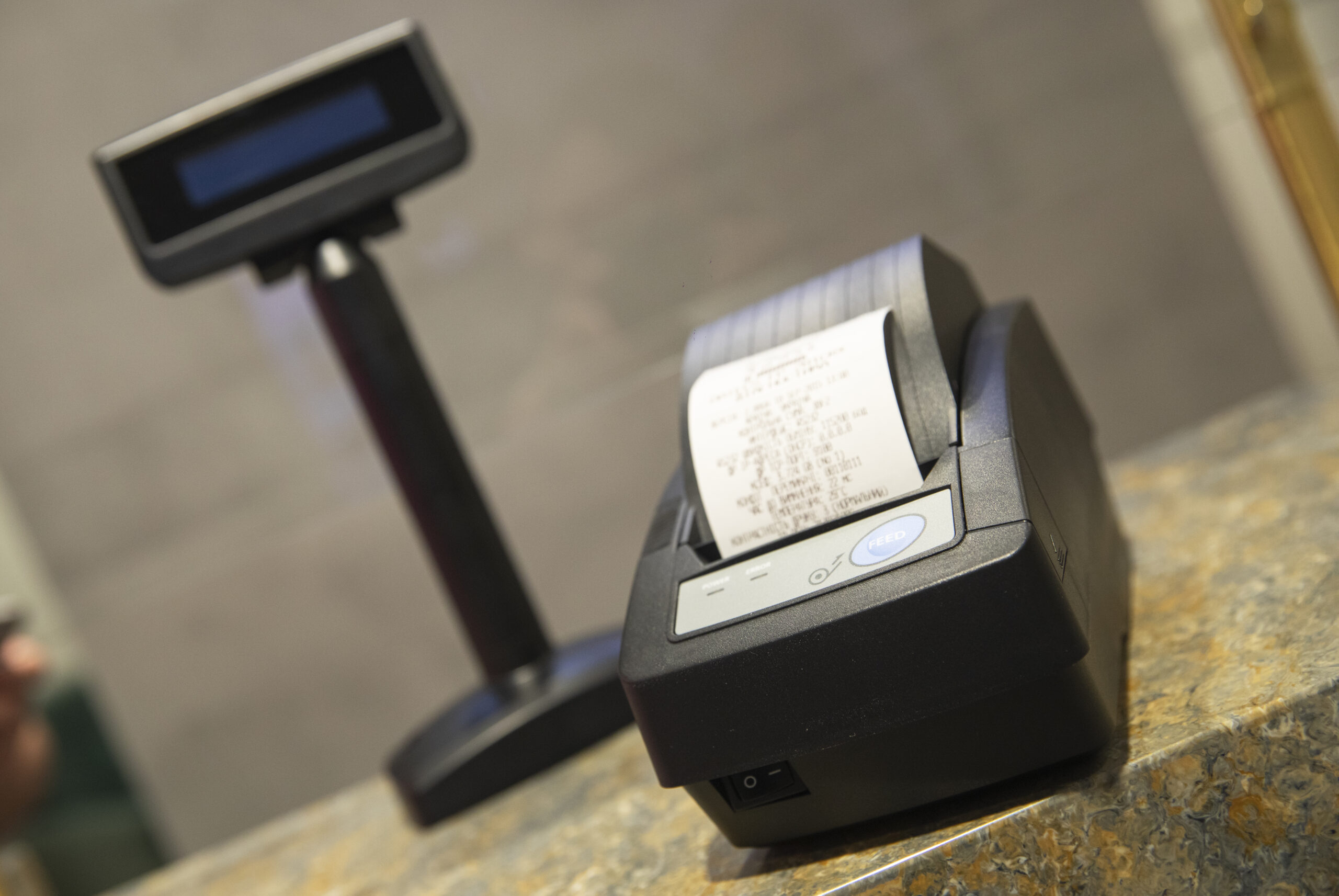 фискальный принтер Exellio FP 550 ES
